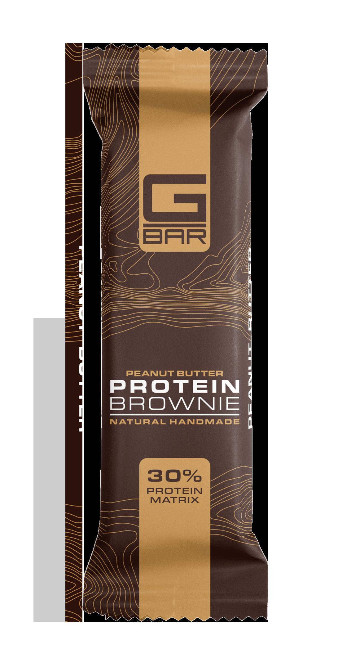 G-BAR BROWNIE PEANUT BUTTER – 60 грама.