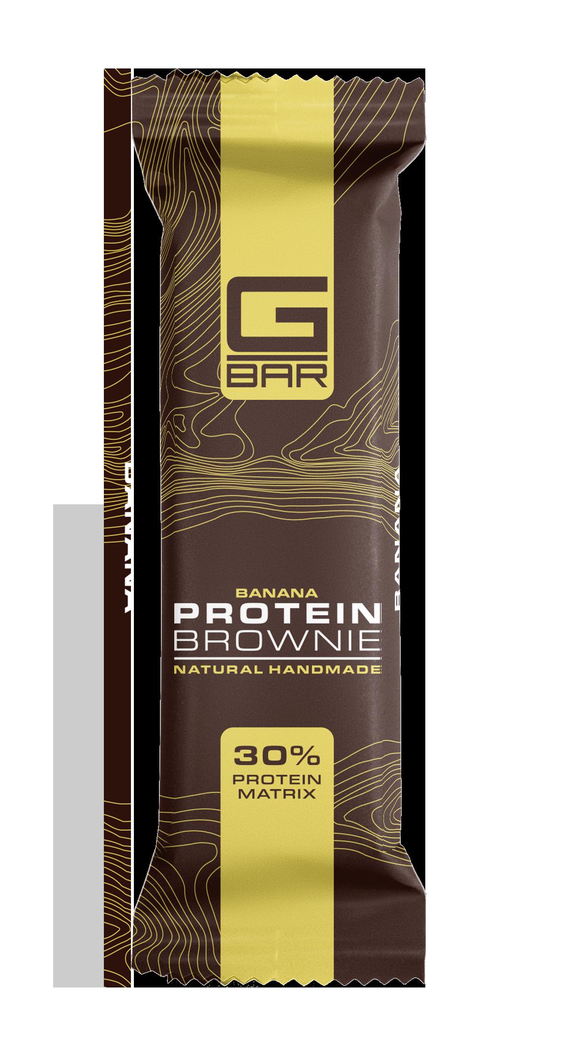 G-BAR BROWNIE BANANA – 60 грама.