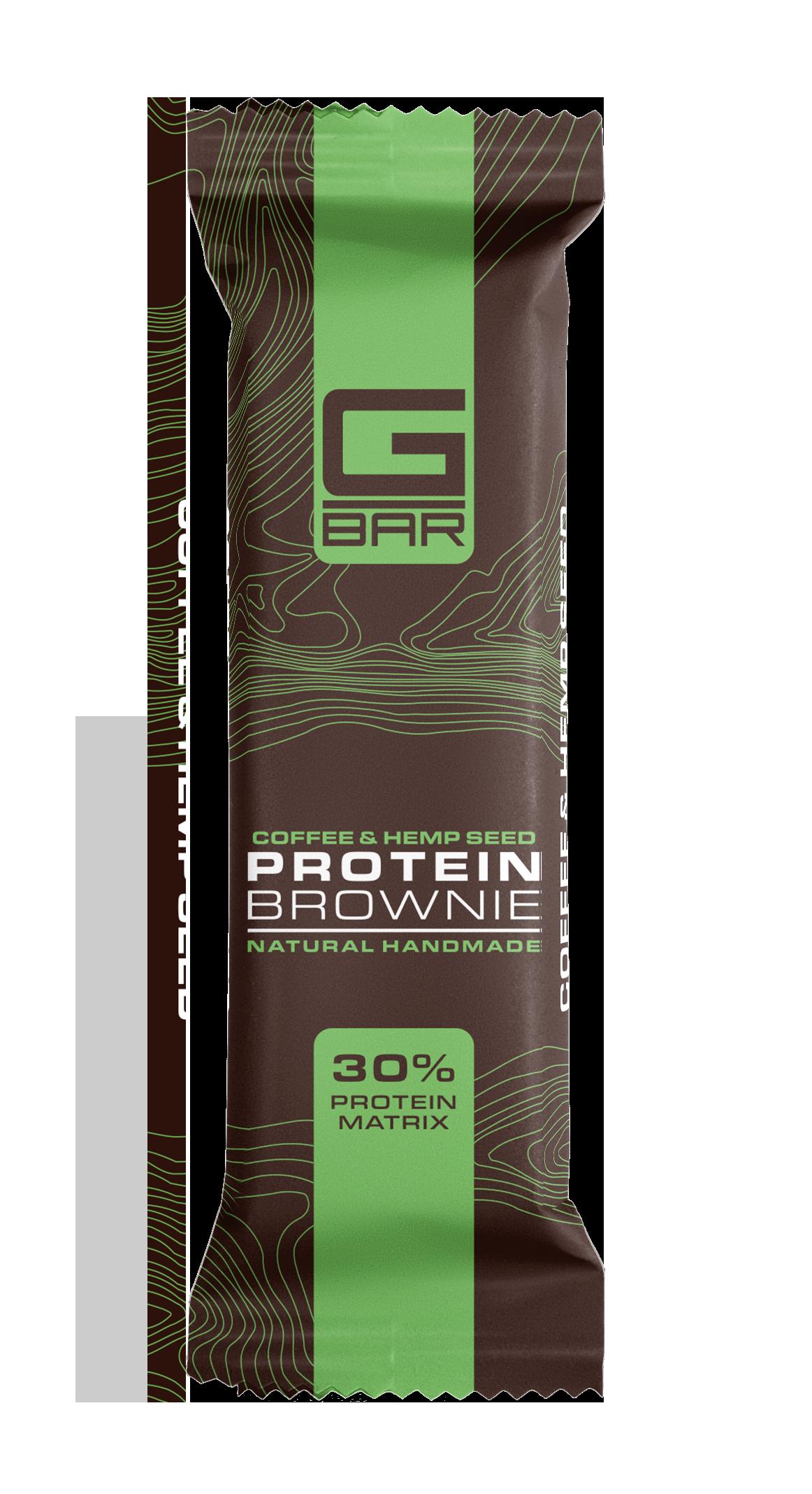 G-BAR BROWNIE COFFEE & HEMP SEED – 60 грама.