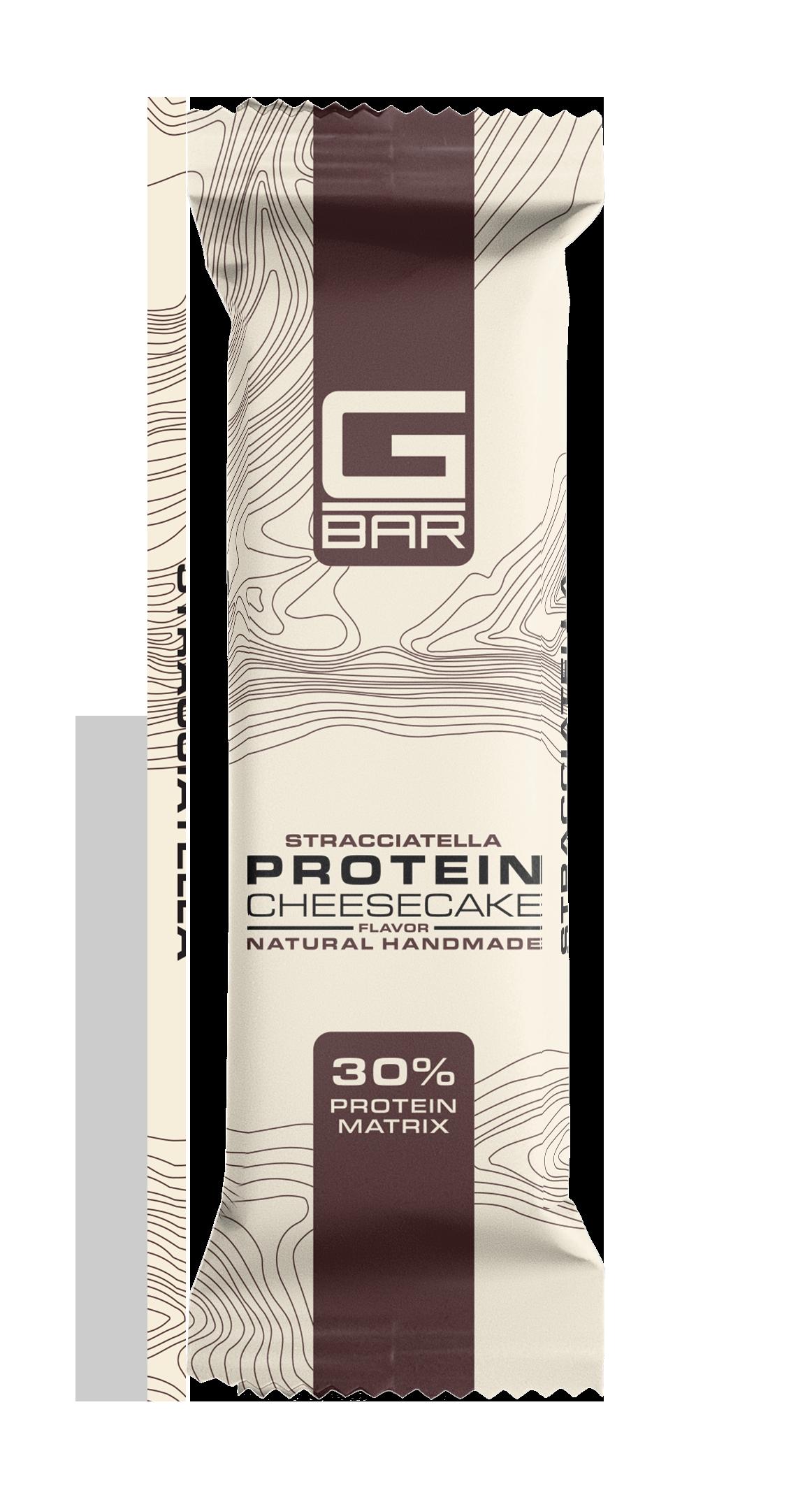 G-BAR CHEESECAKE STRACCIATELLA     – 60 грама.